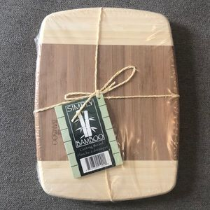 Simply Bamboo cutting board